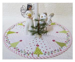 Marg Low Designs Share the Magic and Joy Christmas Tree Skirt