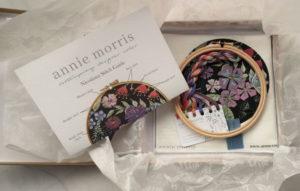 Annie Morris Embroidery Hoop Kit Nicotiana