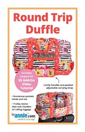 Annie Round Trip Duffle bag Pattern