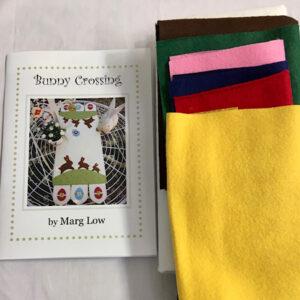 Marg Low's Bunny Crossing tablerunner kit