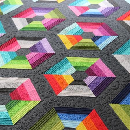 Freebird Quilting Designs Calippo Quilt Pattern by Carolyn Murfitt