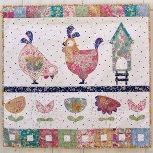 Claire Turpin Henhouse Mini Quilt Pattern