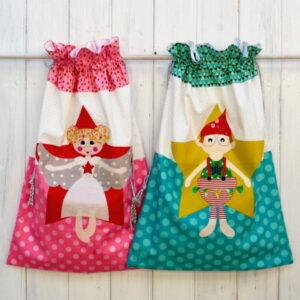 Claire Turpin Hey Santa Christmas Sack Pattern