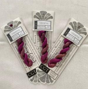 Cottage Garden Threads Verbena Varigated Stranded Embroidery Thread