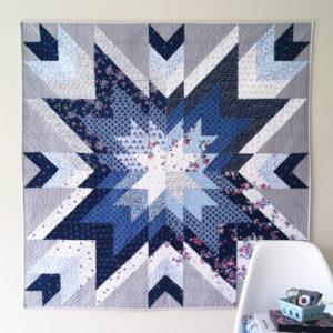 e Indigo Star Quilt Pattern