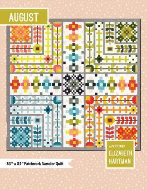 Elizabeth Hartman August Quilt Pattern