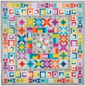 Elizabeth Hartman Aviatrix Medallion Quilt Pattern