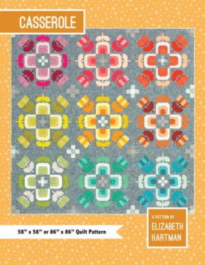 Elizabeth Hartman Casserole Quilt Pattern