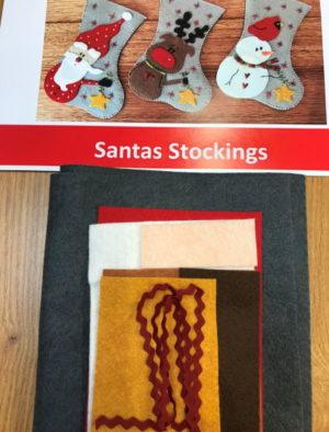 Fig N Berry Christmas Stockings Kit