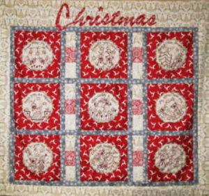 Fig n Berry A Deers Christmas Wall Hanging Pattern