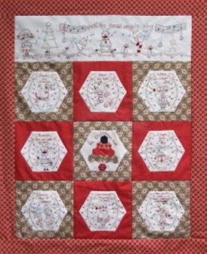 Fig n Berry Christmas Carols Pattern by Lisa Cantlay
