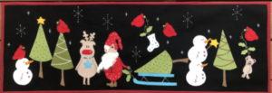 Fig n Berry Christmas Under The Stars Tablerunner Pattern