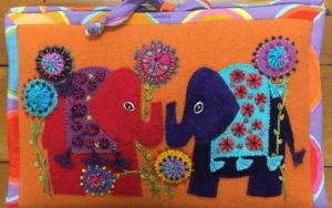 Flying Fish Woolly Zip It Bag by Wendy Williams