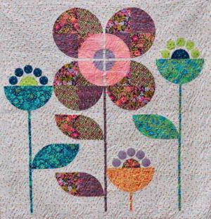 Free Bird Quilting Designs Baby Blossom Quilt Pattern by Carolyn Murfitt
