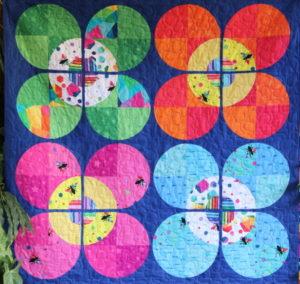 Free Bird Quilting Designs Modern Blossom Quilt Pattern by Carolyn Murfitt