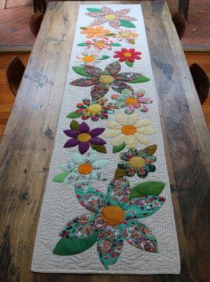 Freebird Blossoms Table Runner Pattern