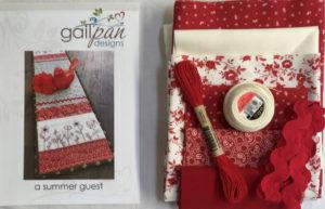 Gail Pan A Summer Guest Table Runner Kit