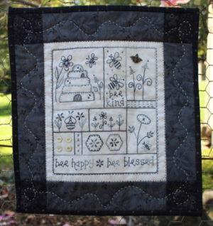 Gail Pan Bee Happy Wall Hanging Pattern
