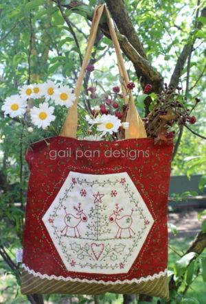 Gail Pan Christmas Cheer Bag Pattern