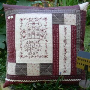 Gail Pan Cosy Cushion Pattern