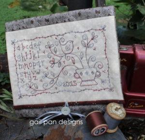 Gail Pan Forget Me Not Sewing Pocket Pattern