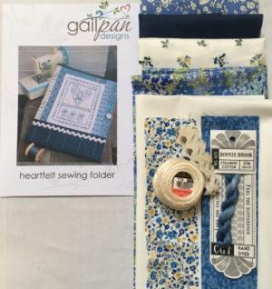 Gail Pan Heartfelt Sewing Folder Kit