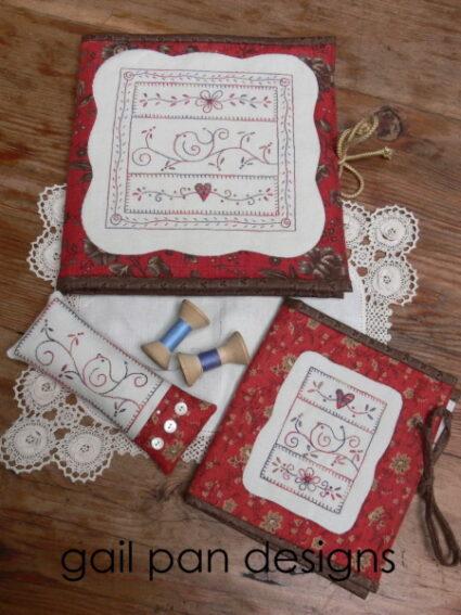 Gail Pan Little Bird sewing set Pattern