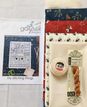 Gail Pan My Stitching Things Sewing Folder Kit
