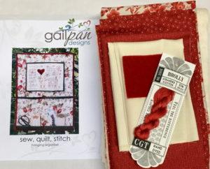 Gail Pan Sew Quilt Stitch Organiser Kit