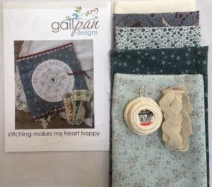 Gail Pan Stitch Makes My Heart Happy Kit