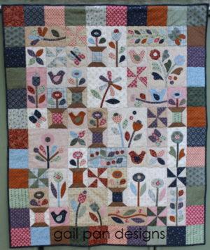Gail Pan Sunshine and Butterflies Quilt Pattern