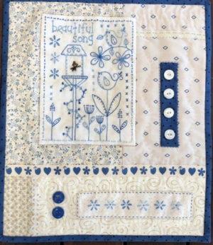 Gail pan Beautiful Song Mini Quilt Pattern