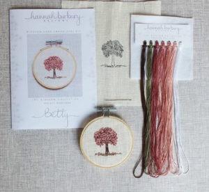 Hannah Burbury Blossom Tree Embroidery Kit