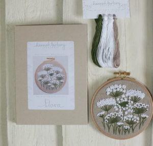 Hannah Burbury Flora Wildflower Embroidery Kit