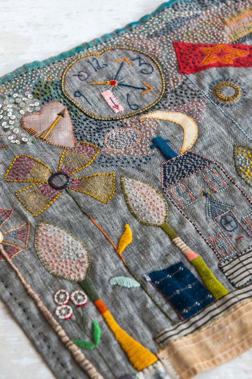 Jessie Chorley Stories in Stitch workshop at Poppy Patch