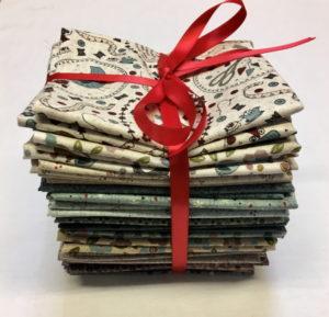 Lecien One Stitch at a Time Fat Quarter Bundle by Lynette Anderson