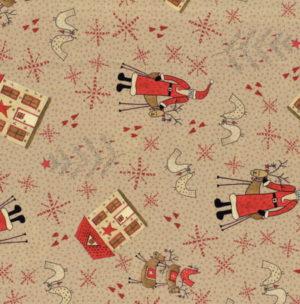 Lecien Scandinavian Christmas II Tan