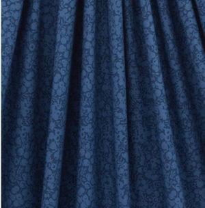 Liberty Wiltshire Shadow Cotton Fabric Indigo