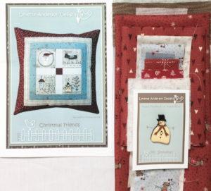 Lynette Anderson Christmas Friends Cushion Kit
