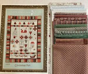 Lynette Anderson Christmas Fun Wall Hanging Kit