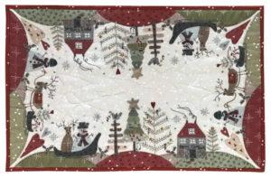 Lynette Anderson Festive Forest Tablerunner pattern