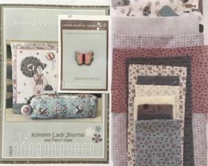 Lynette Anderson Kimono Lady Journal Kit