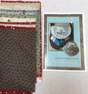 Lynette Anderson Snowfriends Christmas bag Kit