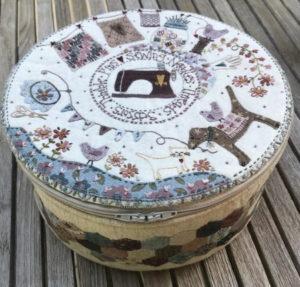Lynette Anderson Stitching Circle Basket Pattern