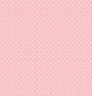 Makower Baby Pink Spot
