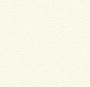 Makower Essentials Scroll White on Cream
