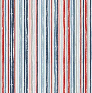Makower Sail Away Chalky Stripe
