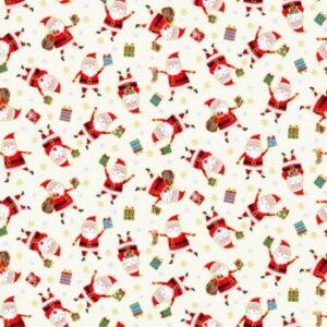 Makower Santa Express Christmas 2021 Santa Cream