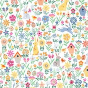 Makower Spring Floral Cream