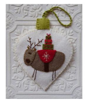 Marg Low Designs Make Merry Reindeer Christmas Decoration